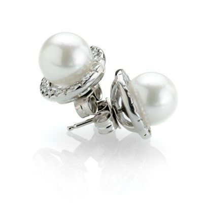Heidi Kjeldsen Versatile Detachable Diamond Halo and Akoya Cultured Pearl Earrings ALT2 Halo02+ER1798