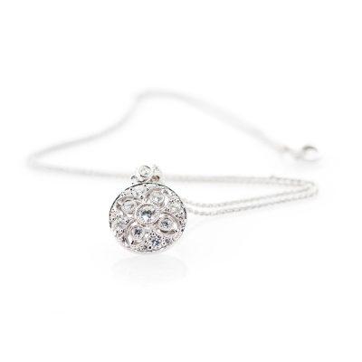 heidi kjeldsen scintillating diamond filgree pendant