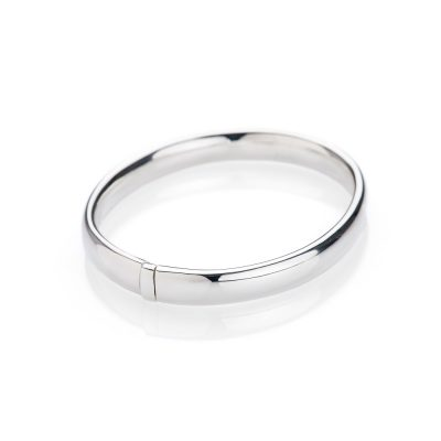 Heidi Kjeldsen Beautiful Solid Sterling Silver Hinged Bangle