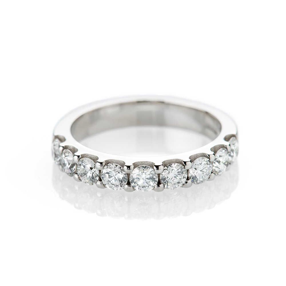 Highly Desirable Diamond 1.08cts Eternity Ring in 18ct White Gold