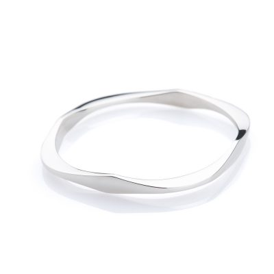 Heidi Kjeldsen Individual Chic Solid Sterling Silver Bangle