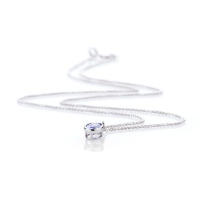Heidi Kjeldsen Timeless Tanzanite and 9ct White Gold Pendant