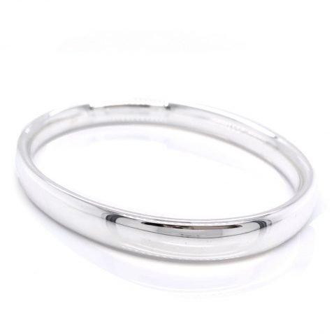 Stylish Sterling Silver Bangle by Heidi Kjeldsen Jewellery BL076 A