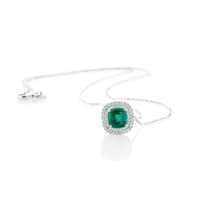 Heidi Kjeldsen A Captivating Emerald and Diamond Pendant p1072+w18tr162.5-1