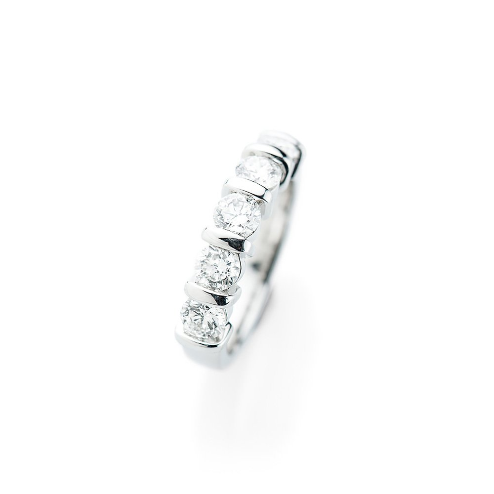 Heidi Kjeldsen Magnificent Diamond Platinum Bar Ring R1170-1