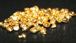 Refined gold ready for new jewellery