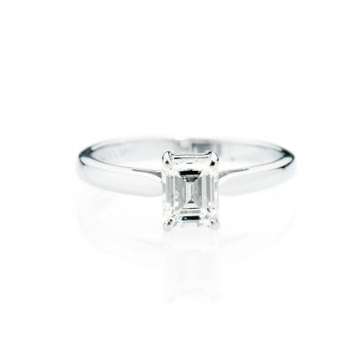 Heidi Kjeldsen Alluring Diamond Emerald Cut Ring R733-1