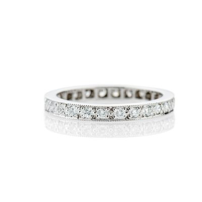 Heidi Kjeldsen Beautiful Platinum And Diamond Full Eternity Ring