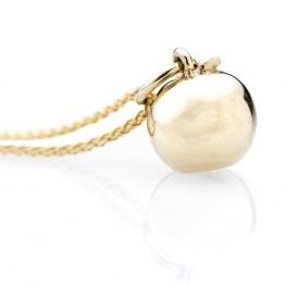 Heidi Kjeldsen Gorgeous Apple And 9ct Yellow Gold Pendant