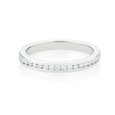 Heidi Kjeldsen Gorgeous Diamond And Platinum Wedding Ring