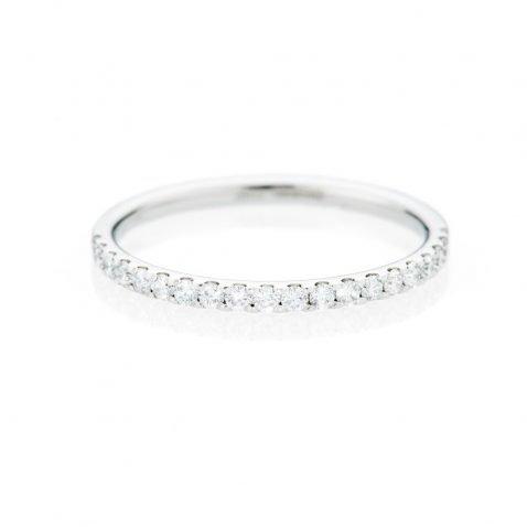 Heidi Kjeldsen Sparkling Diamond And 18ct White Gold Eternity Ring