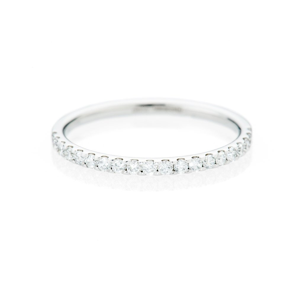 Sparkling Diamond and 18ct White Gold Eternity Ring