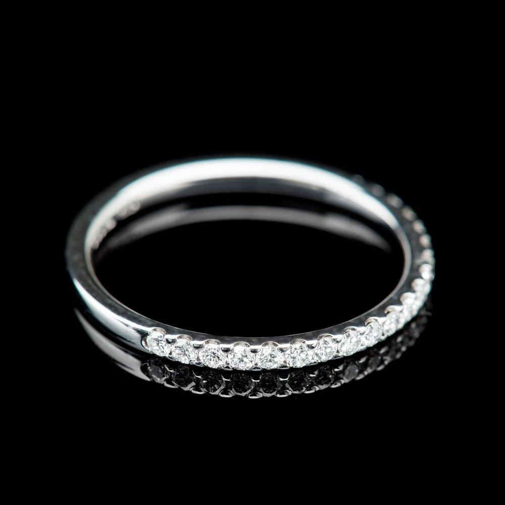 Heidi Kjeldsen Sparkling Diamond And 18ct- White Gold Eternity Ring