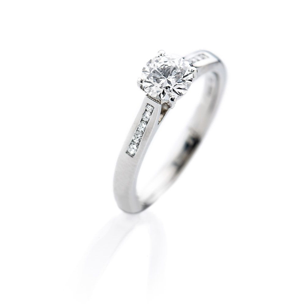 Heidi Kjeldsen Timeless Diamond And 18ct White Gold Ring