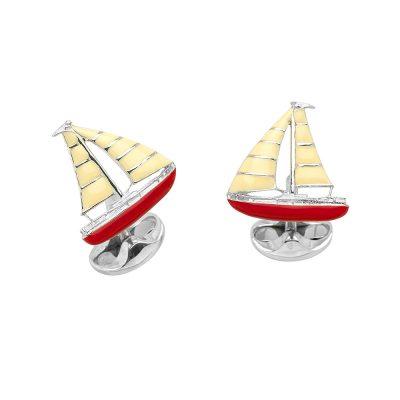 Heidi Kjeldsen Sterling Silver Yacht Cufflinks CL0249