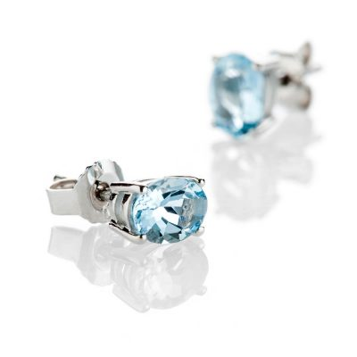 Heidi Kjeldsen Beautiful Blue-Aquamarine-Earrings-And-18ct-White-Gold ER2224-1