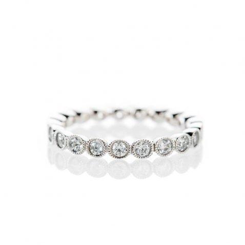 Diamond full eternity ring by Heidi Kjeldsen Jewellery R1266S Front