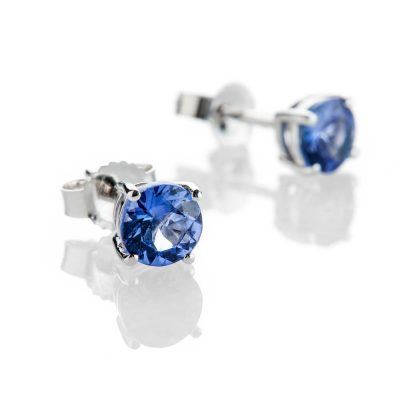 Heidi Kjeldsen Gorgeous Tanzanite And 9ct White Gold Earrings ER2308-1