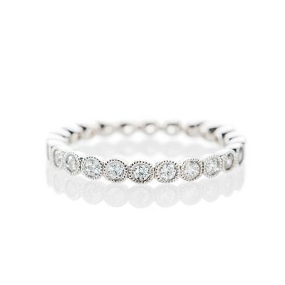 Heidi Kjeldsen Sparkling 0.75cts Of Diamonds In An 18ct White Gold Full Eternity Ring R1268S