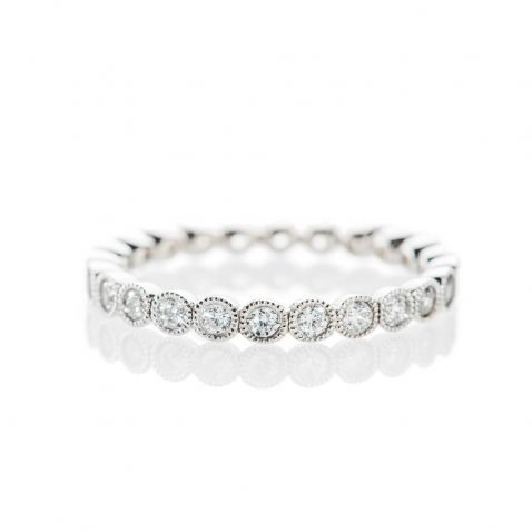 Heidi Kjeldsen Sparkling 0.75cts Of Diamonds In An 18ct White Gold Full Eternity Ring R1268S