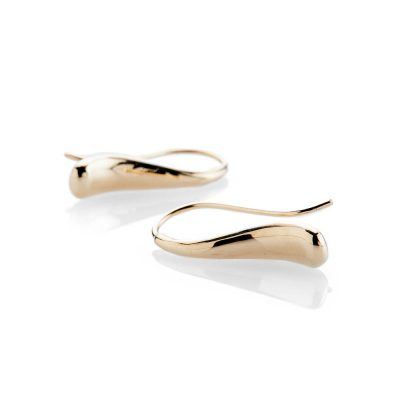 Heidi Kjeldsen Elegant Solid Gold Handmade Teardrop Earrings - ER2053-1