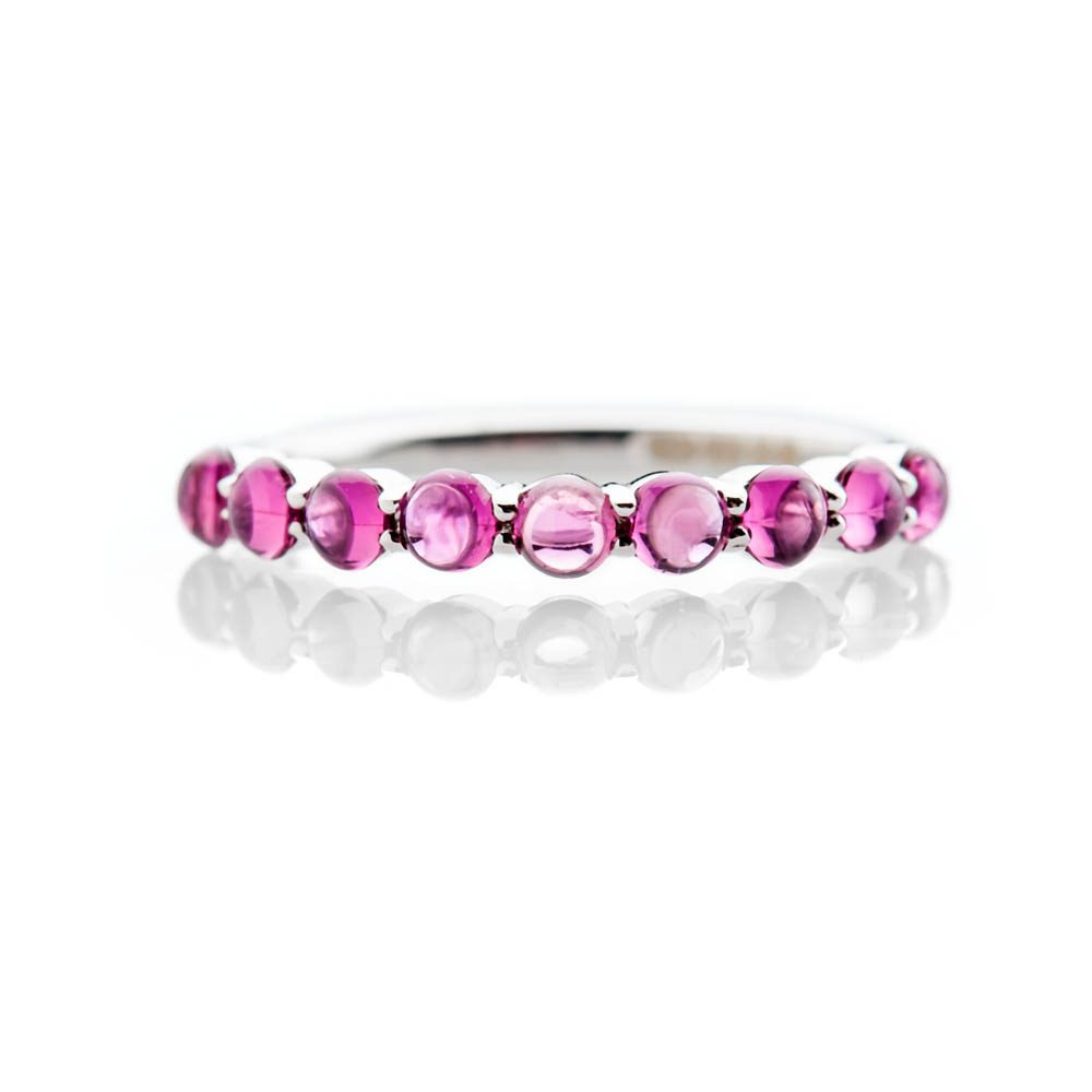 Heidi Kjeldsen Stylish Pink Natural Tourmaline And Gold Dress Ring - R1327-3