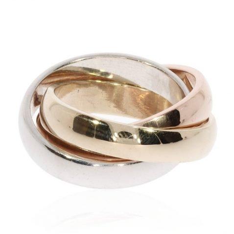 Russian Wedding Ring By Heidi Kjeldsen Jewellery R1627 Front Russian Wedding Ring By Heidi Kjeldsen Jewellery R1627 Vertical Viewiew