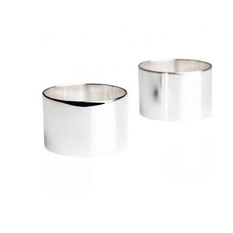 Napkin Rings - Heidi Kjeldsen Jewellery - NR0007andNR0008-1