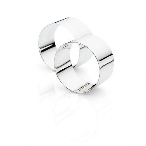 Napkin Rings - Heidi Kjeldsen Jewellery - NR0007andNR0008-2