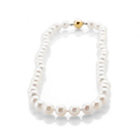 Lustrous Natural Cultured Pearl Necklace - NL1173-1 Heidi Kjeldsen