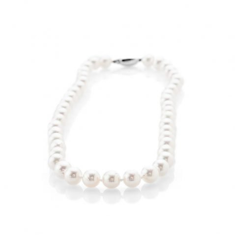 Stunning Natural Large Akoya Cultured Pearl Necklace - NL1152-1 Heidi Kjeldsen