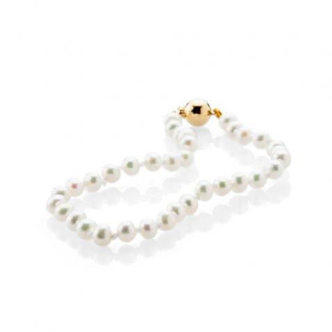 Beautiful Natural Cultured Pearl Bracelet - Heidi Kjeldsen Jewellery - BL1000-1
