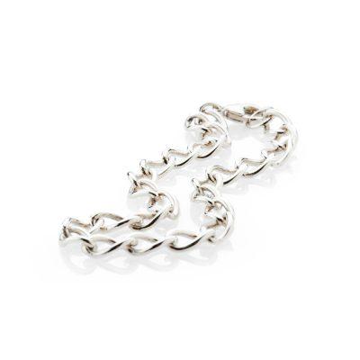 Popular Sterling Silver Curb Bracelet - Heidi-Kjeldsen Jewellery - BL968-1