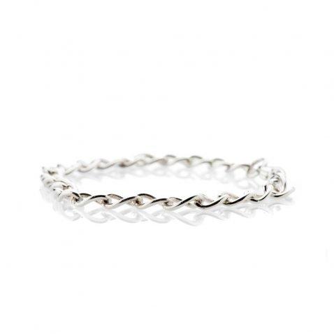 Popular Sterling Silver Curb Bracelet - Heidi-Kjeldsen Jewellery - BL968-3