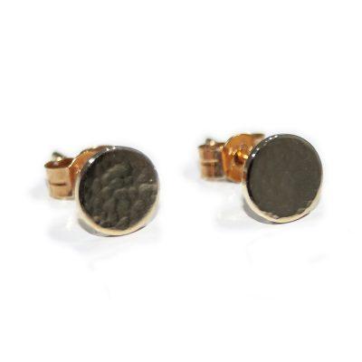 Stylish Gold Earrings - Heidi Kjeldsen Jewellers - ER2051