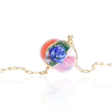 Murano Glass Pendant By Heidi Kjeldsen Jewellery NL1321 Close