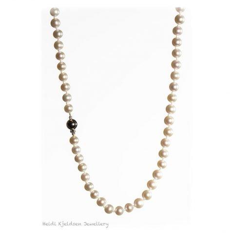 Lustrous white Cultured Pearls Heidi Kjeldsen Jewellers NL1221 B