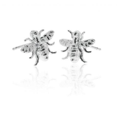 Stylish Sterling Silver Earrings by Heidi Kjeldsen Jewellers ER2503 Front View