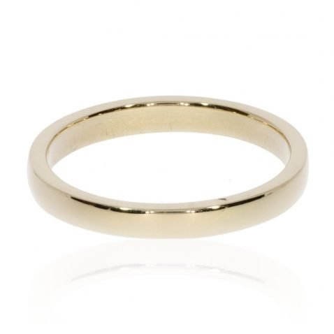 Yellow Gold Wedding Ring By Heidi Kjeldsen Jewellery R1538 Front