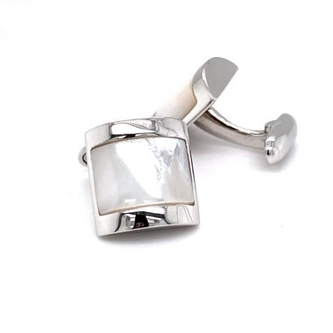 Sterling Silver Mother of Pearl Cufflinks By Heidi Kjeldsen Jewellery CL283