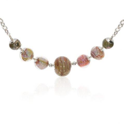 Murano Glass Necklace By Heidi Kjeldsen Jewellery NL129 Front