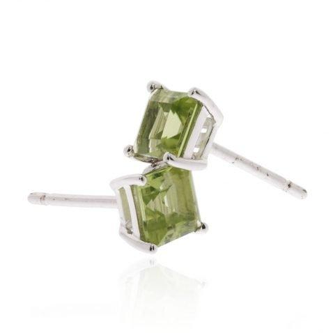 Peridot Square Earrings By Heidi Kjeldsen ER2566 Stack
