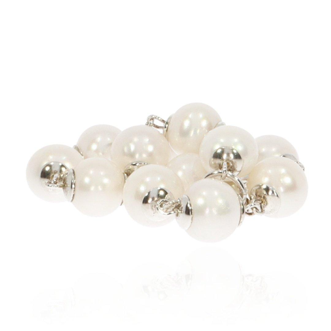 Cultured Pearl and Silver Bracelet By Heidi Kjeldsen Jewellery BL1350 stack