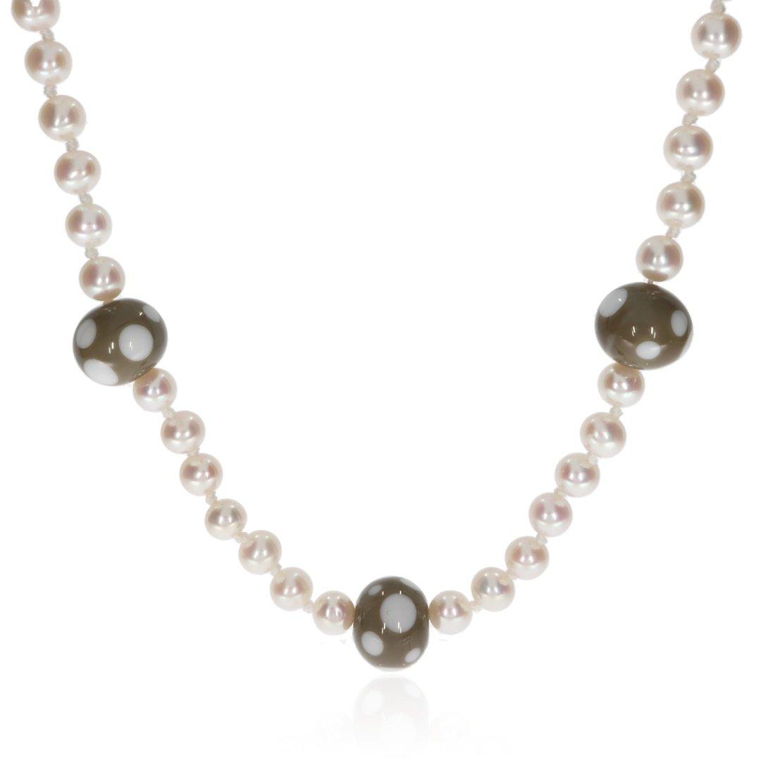 Beige-Dotty-Murano-Glass-and-Cultured-Pearl-Necklace-By-Heidi-Kjeldsen-Jewellery-NL1312-Front