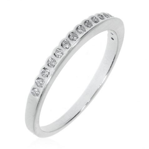 Diamond Double-Sided Eternity Ring By Heidi Kjeldsen Jewellery R1502 Vertical