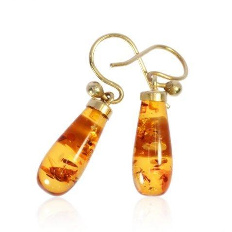 Amber Earrings By Heidi Kjeldsen Jewellers ER4767 Front