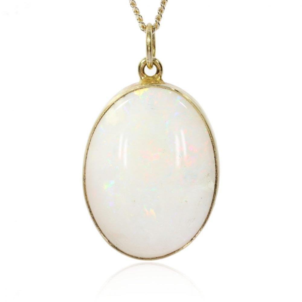 Opal Pendant By Heidi Kjeldsen Jewellers P1471 Front