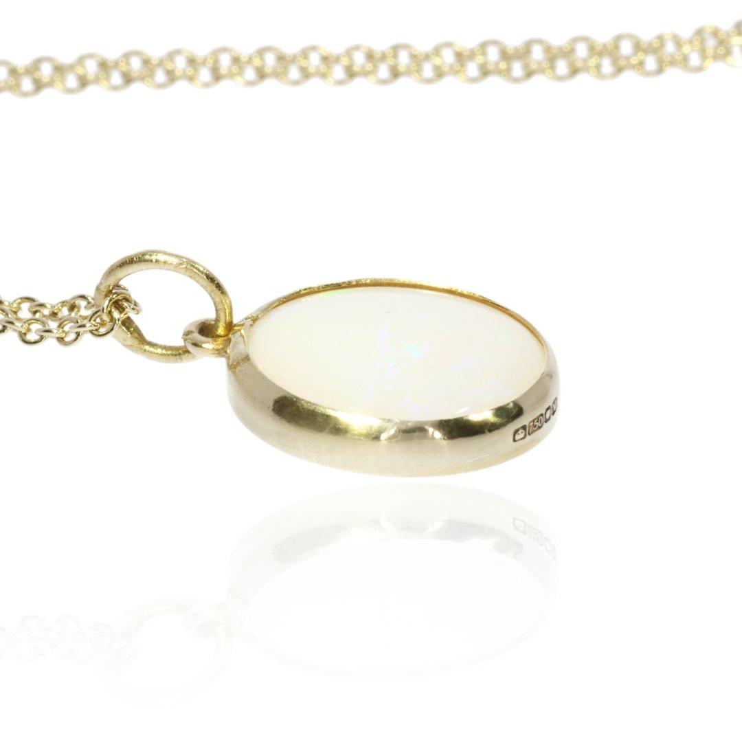 Opal Pendant By Heidi Kjeldsen Jewellers P1472 Flat