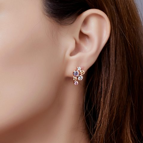 Fei Liu Bubble earrings Heidi Kjeldsen ER2587 Model