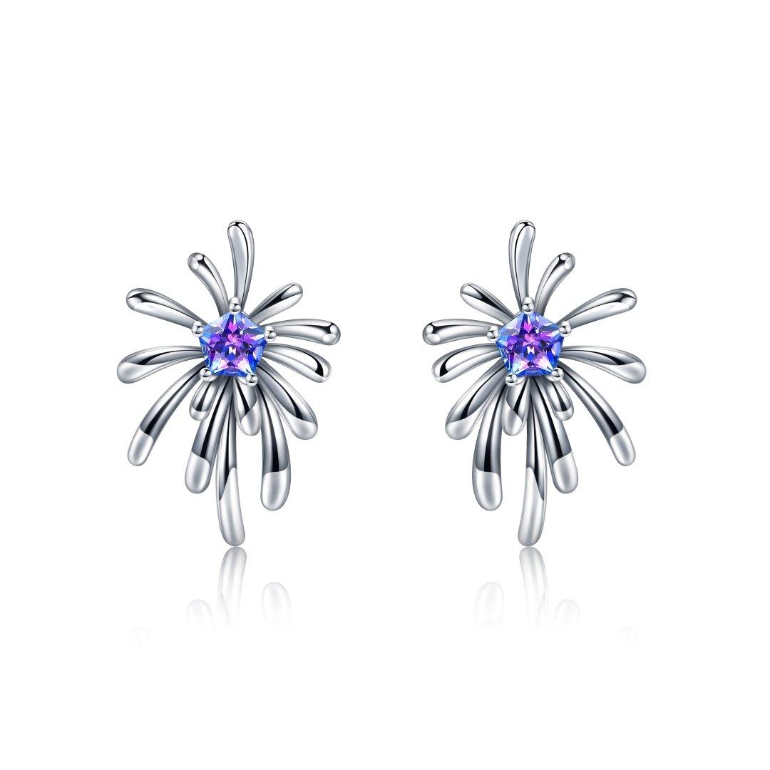 Fei Liu Carpe Diem Collection Heidi Kjeldsen Jewellery Crosette Earrings ER2593 Front